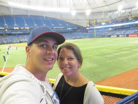 bei den Tampa Bay Rays