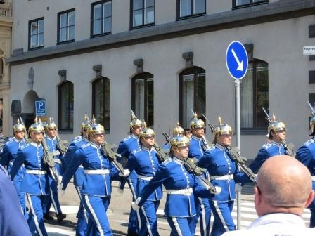 Parade zur Wachablösung