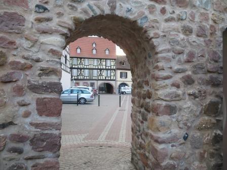 Eingang in die Altstadt von Obernai