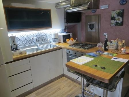 Unsere Ferienwohnung - Küche