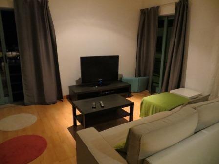 Wohnzimmer unseres wunderschönen Apartments