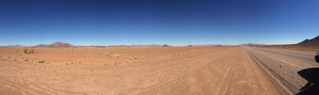 Karge Landschaft...