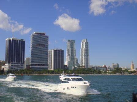 Miami vom Wasser aus