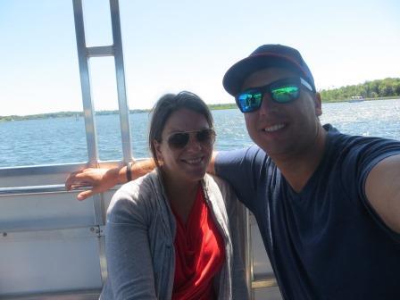 auf der Bootstour