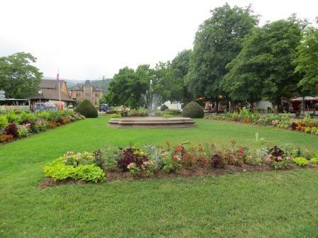 Impressionen aus Ribeauvillé - Stadtpark
