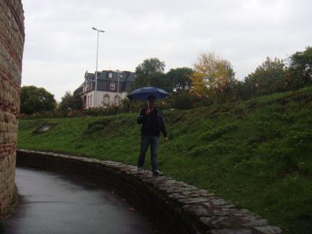 Wir lassen uns trotz Regen die Laune nicht verderben :)