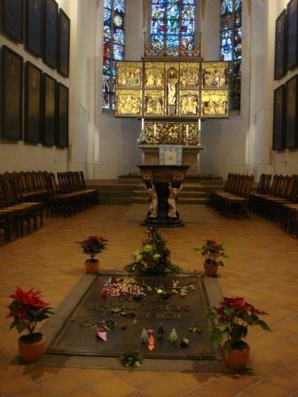 Grabstätte von Johann Sebastian Bach