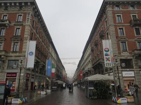 Innenstadt von Mailand