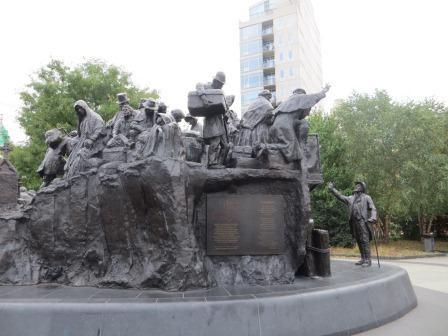 Irisches Denkmal