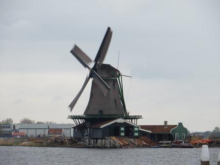 Windmühlen in Zanse Schans