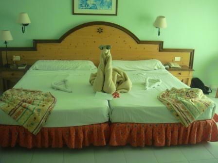 Tägliche Überraschung der Zimmermädchen - Ente, Ente, Ente ;)