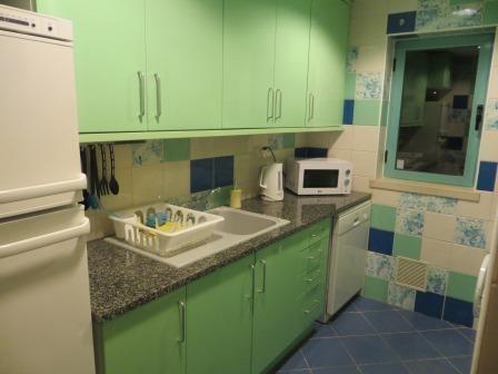 Küche unseres wunderschönen Apartments