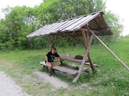 Im Hainich Nationalpark - Picknickpause