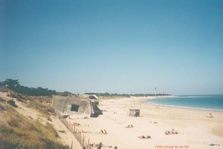 Strand in Ile de Ré