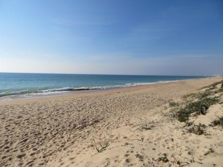 Strand im Ria Formosa Nationalpark