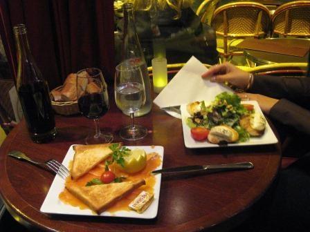 Phantastische französische Küche im Bistro