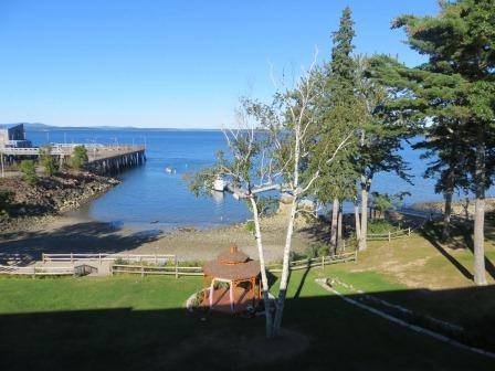 Blick von unserem Balkon im Hotel Ocean View