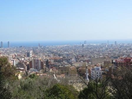 Ausblick vom Parc Güell
