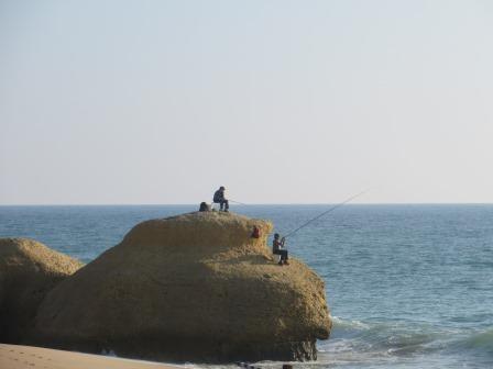 Erfolglose Angler