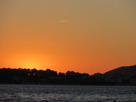 Beautiful Sunset in Vodice