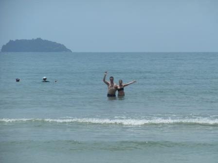 Beaching am Klong Prao Beach