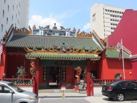 chinesischer Guandi Tempel