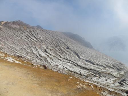 Auf dem Ijen-Plateau
