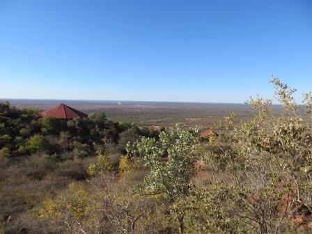 Blick vom Waterberg Plateau