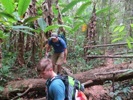 Trekkingtour - über Stock und Stein