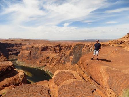 Jan im Navajo Indianergebiet