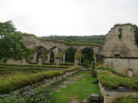 Alvastra Klosterruinen