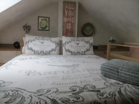 Unsere Ferienwohnung - gemütliches Schlafzimmer