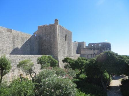 Stadtmauer um Dubrovnik´s Altstadt