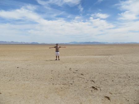 Unterwegs in der Wüste....unglaubliche Weiten