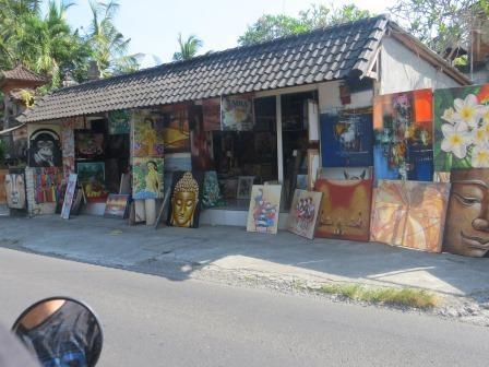 Künstlerdörfer um Ubud