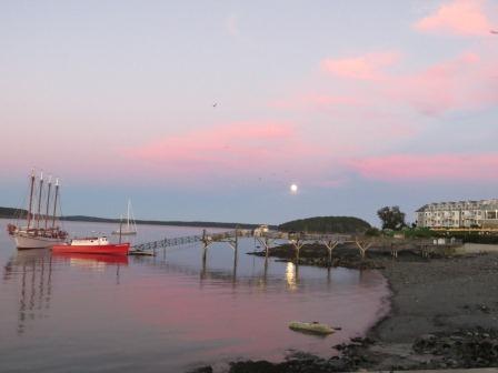 Abendstimmung in Bar Harbor