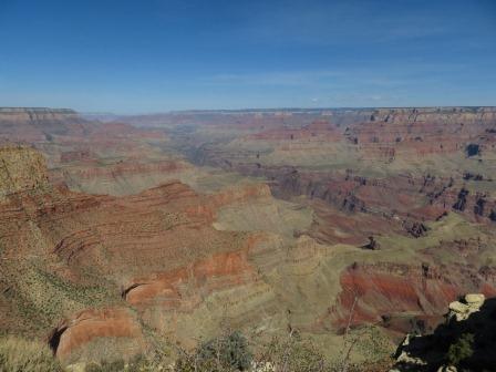 Grand Canyon - im richtigen Licht ein tolles Farbspiel!