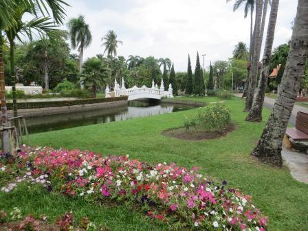 Stadtpark in der Altstadt von Chiang Mai