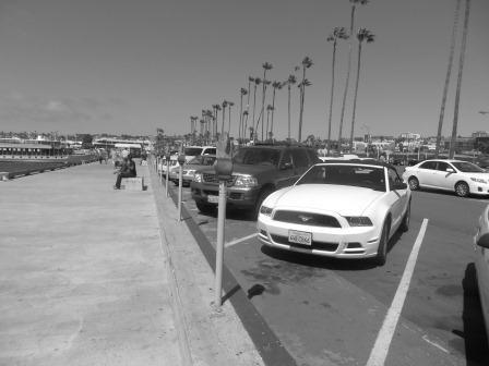 Am Hafen von San Diego
