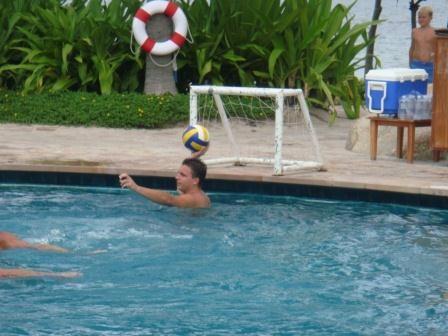 Wasserballmatch