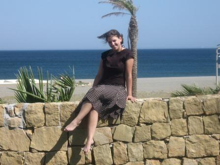 Am Strand von San Enrique