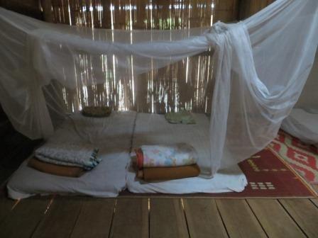 Unsere Schlafstätte im Karen-Dorf