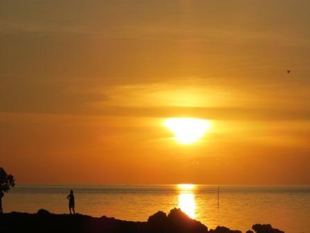 Sonnenuntergang auf Flores