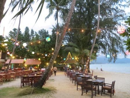 Strandrestaurant im Paradise Resort