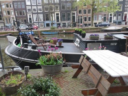 Hausboote in den Grachten