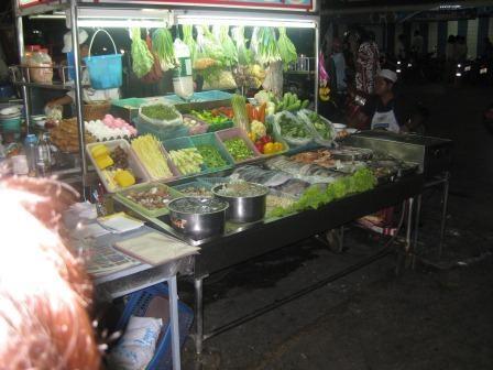 Abschied vom Nachtmarkt in Hua Hin
