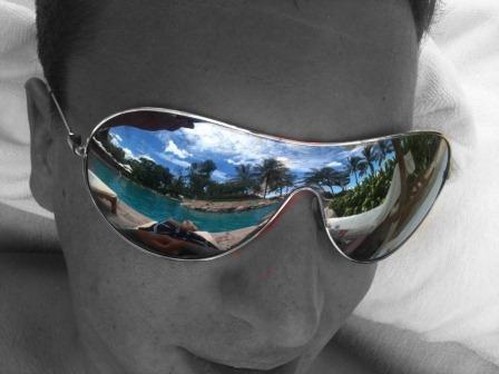 Am Pool...