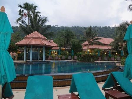 Pool im Paradise Resort