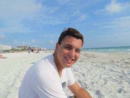 am Strand von St. Pete Beach