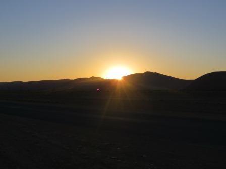 Sonnenuntergang im Sossusvlei